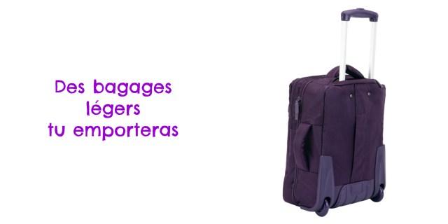 Voyager responsable- bagages- échos verts