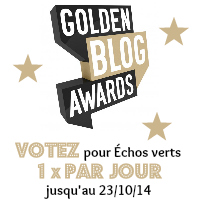 Golden Blog Awards 2014- Échos verts