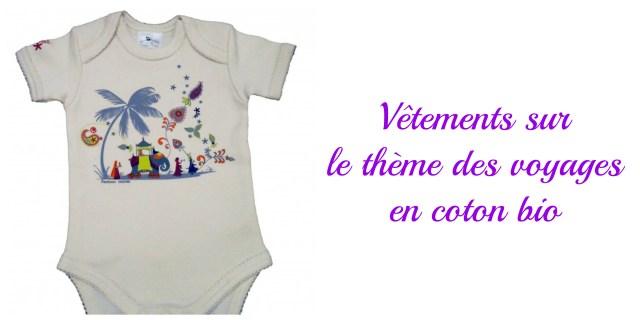 Bodies coton bio- cadeau écolo bébé