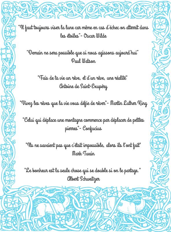 Citations inspirantes- Echos verts