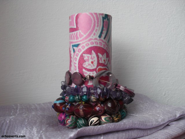 Présentoirs à bracelets- DIY- copyright- échos verts