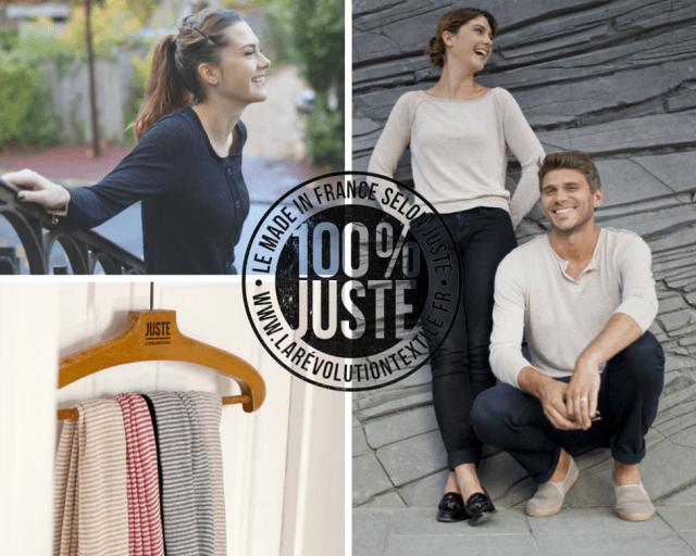 Vêtements Juste la révolution textile