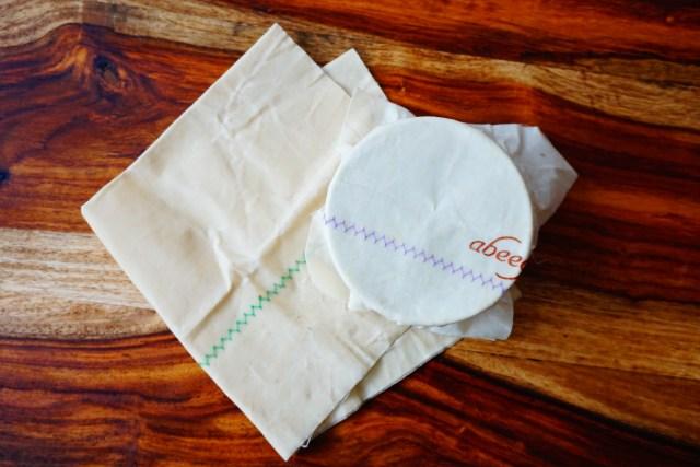 cuisine zéro déchet emballage cire d'abeilles copyright echosverts.com
