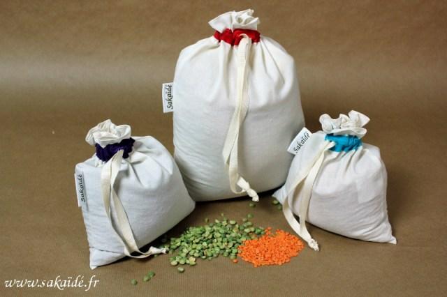 sac à vrac coton bio sakaïde
