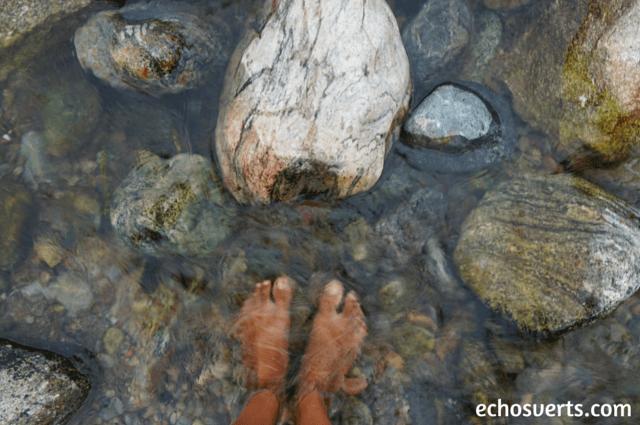 Tremper les pieds dans l'eau echosverts.com