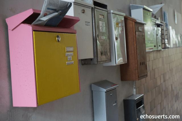 Boîtes aux lettres logement coopératif Allemagne echosverts.com