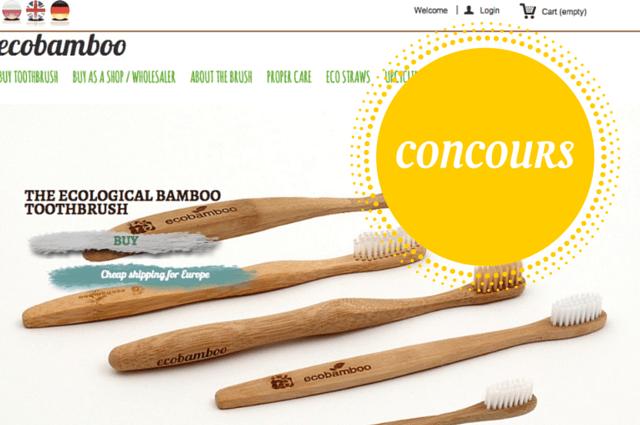 concours ecobamboo brosse à dent écologique echosverts.com