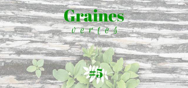 Graines vertes #5 echosverts.com