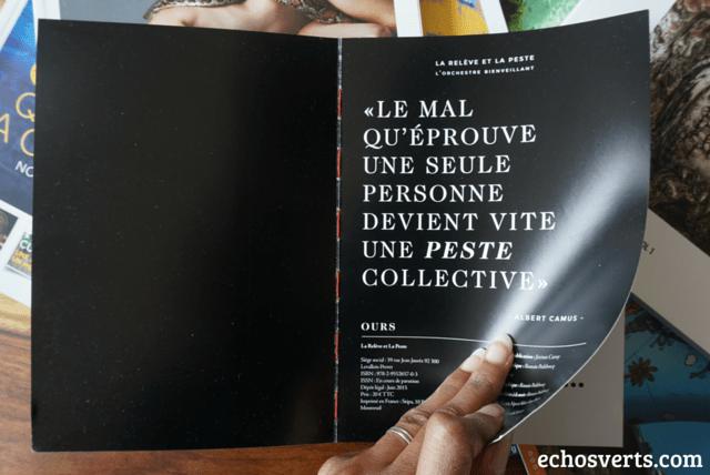 Citation Albert Camus echosverts.com