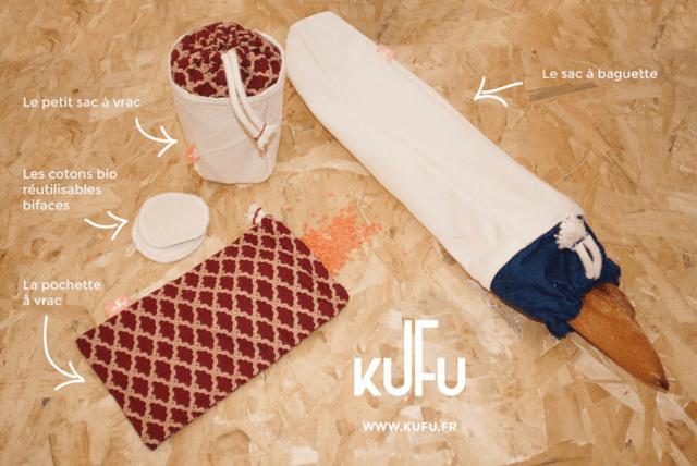 KUFU kit courses zéro déchet