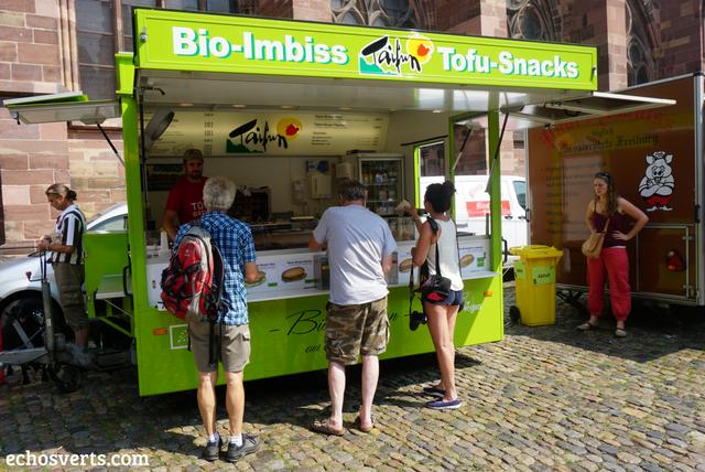 Taifun Food Truck vegan Freiburg Allemagne echosverts.com