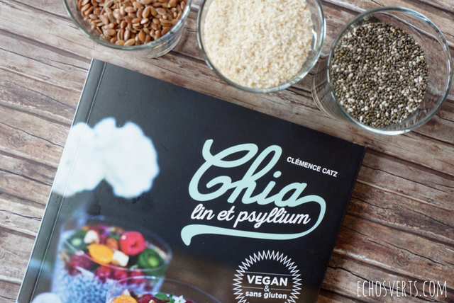 Chia Lin Psyllim recettes vegan Editions La Plage