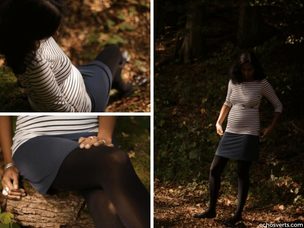 08a2573e67b7a5 Mes astuces pour une garde-robe de grossesse minimaliste, éthique et ...