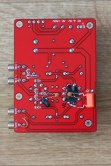 The mods to the underside of the valve preamp