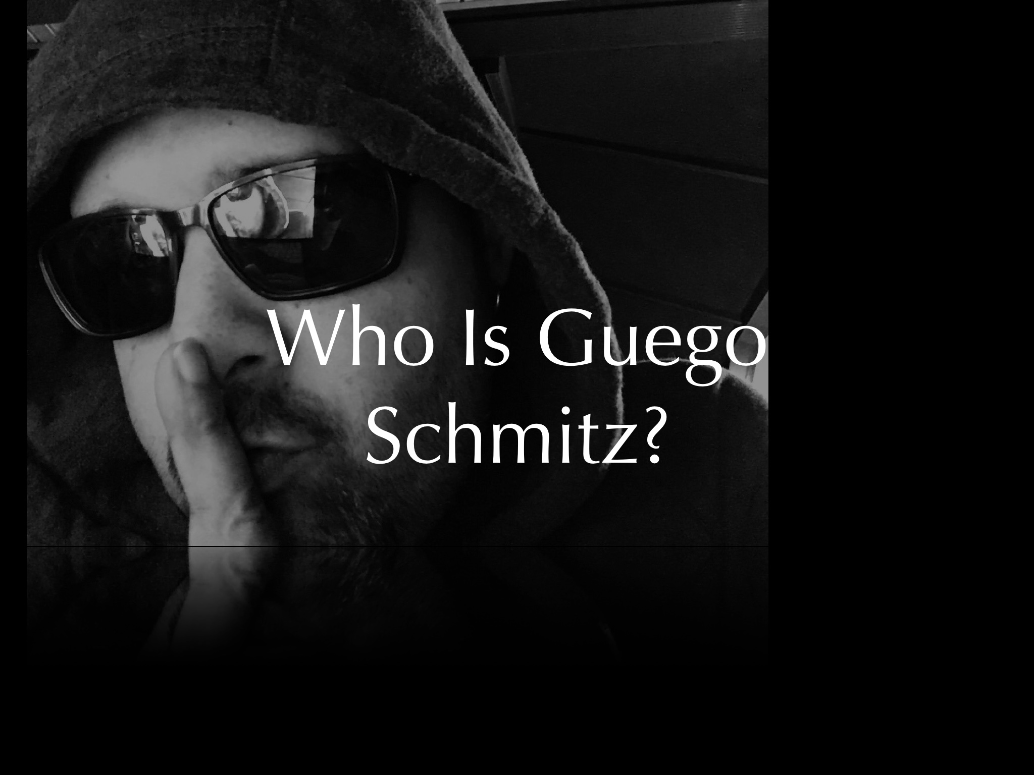 Who Is Guego Schmitz?