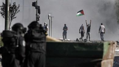 """صورة إصابة فلسطينيين  برصاص الاحتلال خلال مسيرة """"كفر قدوم """" الأسبوعية في قلقيلية"""