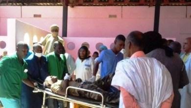 صورة وفاة أربعة جنود واصابة أربعة عشر بينهم طفل في انقلاب شاحنة عسكرية موريتانية