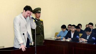 صورة كوريا الشمالية تعاقب أميركيا سرق لافتة بالسجن 15 عاما