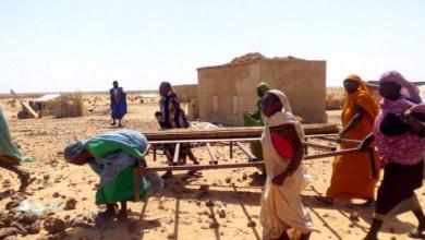 """صورة موريتانيا: حي """"دوكسه""""  بمدينة ألاك ..معاناة الهجرة والتشرد"""