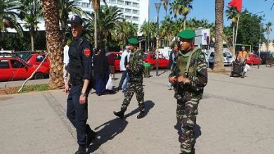 صورة إنتحار جندي مغربي بعد قتله  عقيدا وجنديين جنوب البلاد
