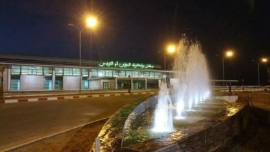 صورة ولد عبدالعزيز يعطى اشارة إنطــلاق تشغيل مطار أم التونسي