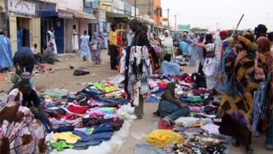 صورة اصابات في إنهيار جزئي في سوق الميناء بنواكشوط