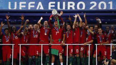 صورة البرتغال بطلا لكأس اوروبا 2016