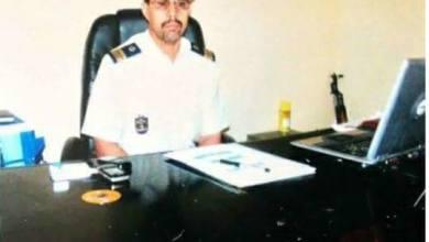 صورة اقالة قائد التجمع رقم (9) بعد قتل حرسي على يد زميله