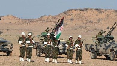 """صورة الجيش الصحــراوي يوقف الأشغال بمنطقة """"الكركرات"""" وينصب مدافعه الثقيله بإتجاه المغرب"""