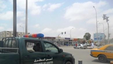 """صورة إعتقال ضابط صف من الحرس بتهمة محاولة الإعتداء على عناصر من """"أمن الطرق"""""""