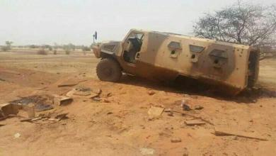 صورة قتلى في هجوم على الجيش المالي