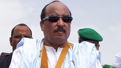 صورة الرئيس ولد عبد العزيز : رفضت بيع شركة أسنيم والدستور يجب تنقيحه