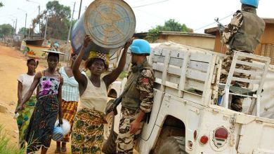 صورة افريقيا الوسطى : مقتل جنديين مغربيين من القبعات الزرق في بانغاسو