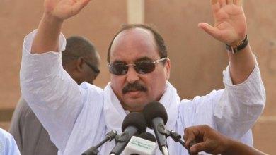 صورة ولد عبد العزيز  : المعارضة تخدم دولا أجنبية ضد مــوريتانيا