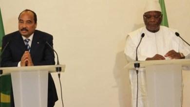 صورة مالي :ولد عبد العزيز يجري مباحثات مع كيتا