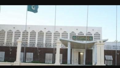 صورة موريتانيا: الحرس يمنع الشيوخ من دخول مبنى المجلس