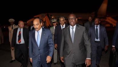 صورة الوكالة الموريتانية للأنباء ترد على نظيرتها السنغالية و بيرام يقاطع مؤتمر دكار