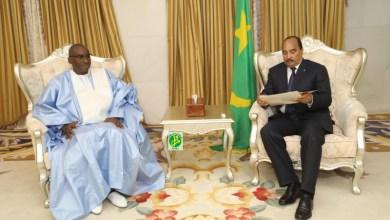 صورة موريتانيا: الرئيس يستضيف مبعوث نظيره السنغالي..هل هي بداية إذابة الجليد