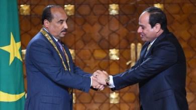صورة موريتانيا: تعرف على مضامين الرسالة التي تسلمها الرئيس من نظيره المصري