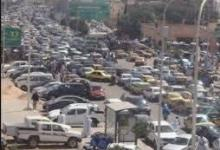 صورة أزمة المرور في نواكشوط تتسب في وفاة جريح داخل سيارة اسعاف