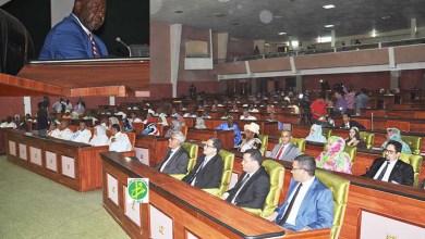 صورة موريتانيا: افتتاح أولى دورات البرلمان للعام الجديد 2017-2018