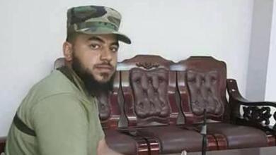 صورة انفجار لغم أرضي في بنغازي يودي بحياة قائد عسكري