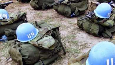 صورة مقتل جندي مصري في بعثة الأمم المتحدة في أفريقيا الوسطى