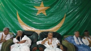 صورة الشرطة الموريتانية تصادر أعلاما قديمة في مقر RFD