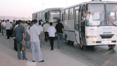 صورة الجزائر توفر باصات عامة لنقل الركاب بين تندوف ونواكشوط