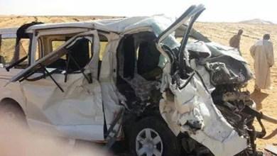 صورة أطار: حادث سير يودي بحياة 8 أشخاص