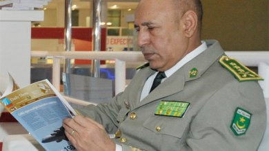 صورة وفد عسكري جزائري يزور نواكشوط