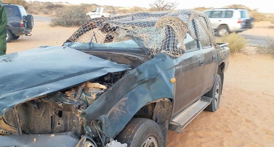 وفاة شخصين وإصابة 10 آخرين في حادث سير قرب واد الناقة