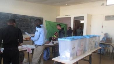 صورة بدء تصويت القوات المسلحة وقوات الأمن في الدور الأول من الإنتخابات