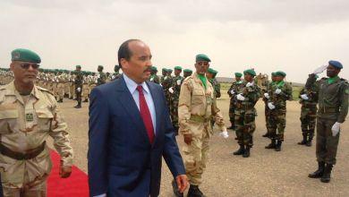 صورة ولد عبد العزيز : من يساند النظام عليه أن يصوت للحزب الحاكم